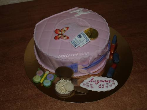 торт-сумочка для девочки - Детские торты - Фотоальбомы тортов...